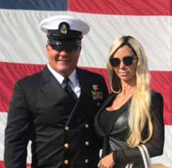 Jewels Jade's husband, a decorated Navy Seal could be in hot water over moonlighting as a porn actor.